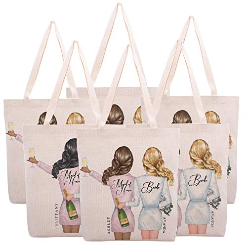 Bridal Shower Gifts - Personalized Bridesmaid Gifts Tote