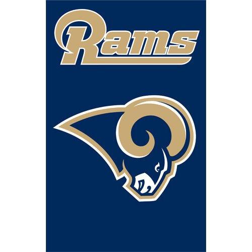 (Party Animal St. Louis Rams NFL Applique Banner Flag (44x28