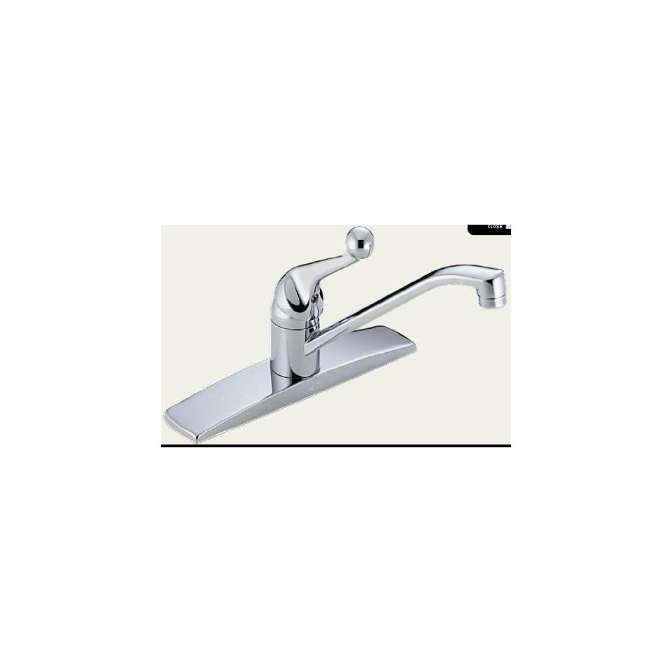 Delta 100 TP Single Handle Tract Pack Kitchen Faucet Chrome