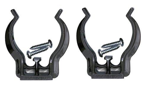 (Maglite Black Mounting Brackets for AA Mini, 2 pk)