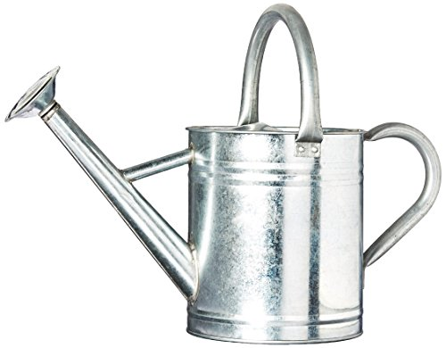 Gardener's Select AW3003P6G   Watering Can, Galvanized, 3.5 L ()