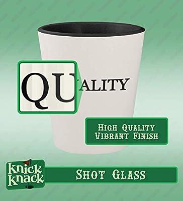 got kincaid? - Ceramic White Outer & Black Inner 1.5oz Shot Glass