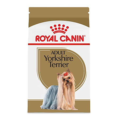 Royal Canin Breed Health Nutrition Yorkshire Terrier Adult Dry Dog Food, 10-Pound ()