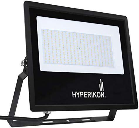 Hyperikon 200W LED Flood Light, 1000 Watt Equivalent , 5000K, 100-277v, ETL, DLC