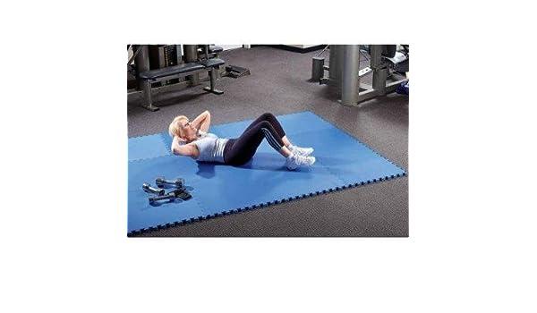 Cannons es colchoneta suelo de gimnasio EVA Puzzle Colchonetas 60cm x 60cm x12mm: Amazon.es: Deportes y aire libre