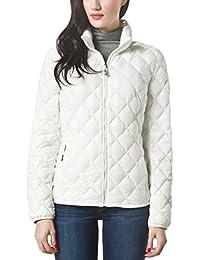 Women Packable Down Quilted Jacket Lightweight Puffer Coat