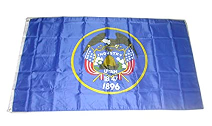 "State of Utah 3x5/' Flag NEW 36X60/"" BIG"
