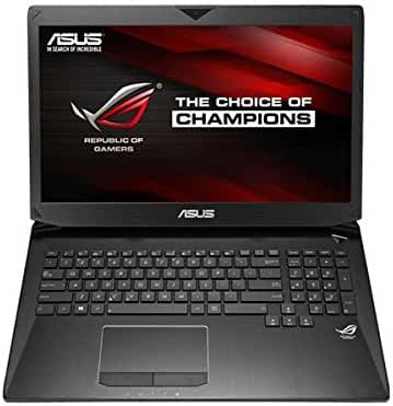ASUS G750JZ-DB73-CA Republic of Gamers (ROG) (17.3-inch, i7-4700HQ, 24GB-DDR3, 256GB SSD+1TB HDD, GTX880M-4G, BD, Windows 8.1, Black)