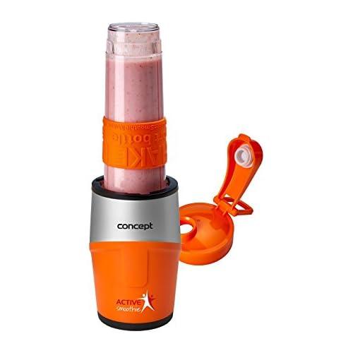 chollos oferta descuentos barato Concept Electrodomésticos sm3381 Smoothie marker active con una cabeza 500 W 0 57 litros plástico Naranja