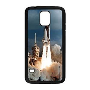Personalized Space Shuttle Launch S5 Case, Space Shuttle Launch Customized Case for Samsung Galaxy S5 I9600 at Lzzcase