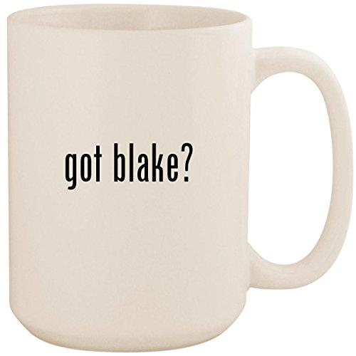 got blake? - White 15oz Ceramic Coffee Mug Cup