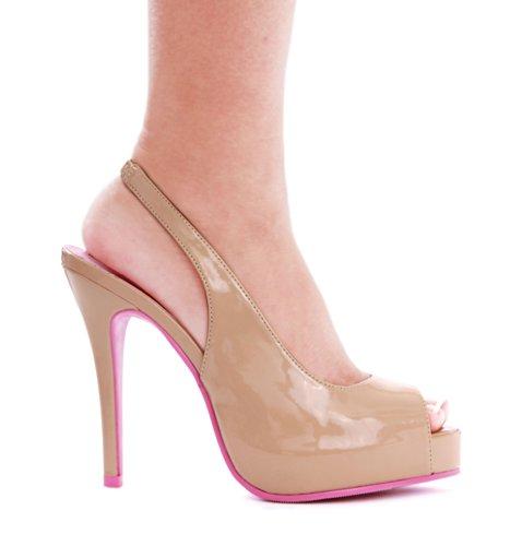 Ellie Chaussures Femme 451-maryellen Robe Pompe Rose