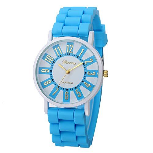 Waist Watch Geneva Roman Numerals Children Boys Girls Women Watches Silicone Jelly Quartz Wrist Watch Bracelet Relogio Feminino Masculino