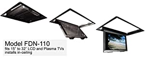 Flp 110 Motorized Flip Down Ceiling Tv Lift