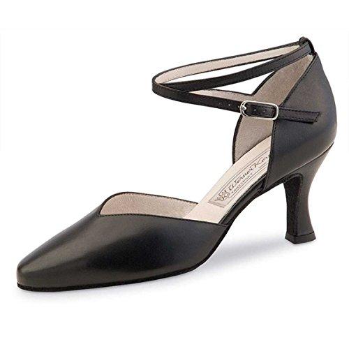 Zapato de baile mujer para de tacón 6 negro Werner cm Kern 5 TwqHZxRc5