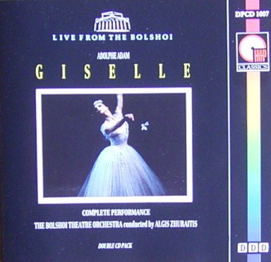 Adam: Giselle (Complete Ballet) (Live From the Bolshoi) by Pickwick International IMP Classics