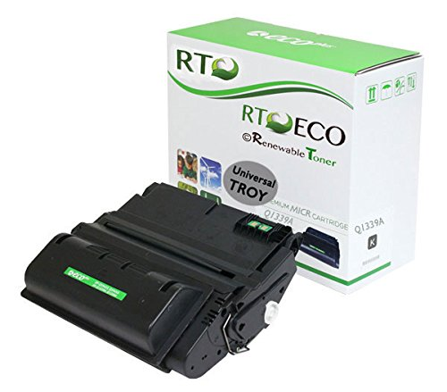 Renewable Toner Universal TROY 02-81119-001 HP Q1339A 39A MICR Toner Cartridge check printing compatible with Troy HP LaserJet Printers 4300 4300n 4300dn 4300tn 4300dtn 4300dtns - Compatible 0281119001 Toner Micr