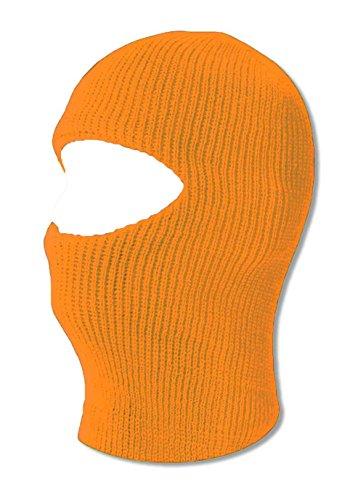 TopHeadwear One 1 Hole Ski Mask - Neon Orange ()