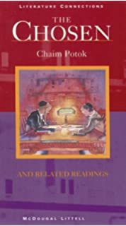 The chosen chaim potok 9780449213445 amazon books the chosen and related readings literature connections fandeluxe Gallery