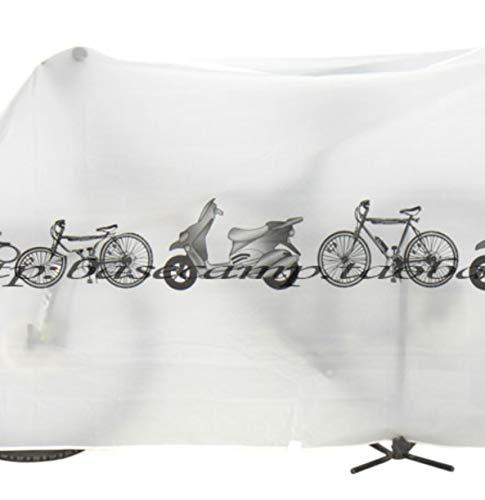 Cubierta para Bicicleta, 190T Nylon, Impermeable Cubierta para ...