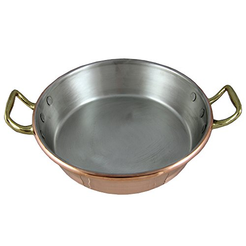 Traditional Copper Paella Pan Paellera Made In Portugal (N1. 8