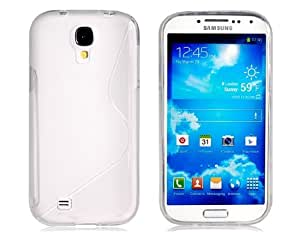 Get TPU Rubber Protective Case for Samsung Galaxy S4 I9500 (Neon Transparent)