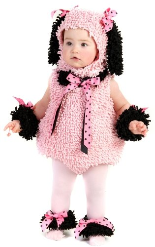 Pinkie Poodle Costume - X-Small -