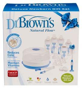 Dr. Browns - Kit de biberones, color azul (DRB816)