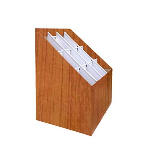 FixtureDisplays Economy Corrugated Cardboard Blueprint Organizor Corrugated Roll File Display Drawing Stand Artist Graphic Print Art Storage Bin 18338-NF No