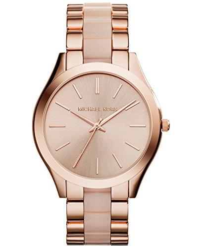 Michael Kors Women's Slim Runway Rose Gold-Tone Watch MK4294