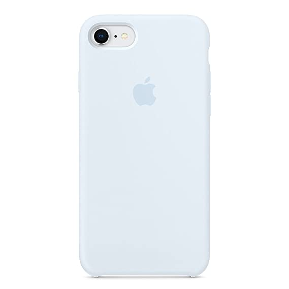 low priced 52acf 49ae9 Dawsofl Soft Silicone Case Cover for Apple iPhone 8 (4.7inch) Boxed- Retail  Packaging (Sky Blue)
