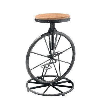- Best Selling Michael Bicycle Wheel Adjustable Bar Stool
