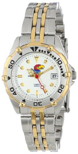 Kansas Jayhawks Women's All Star Watch Stainless Steel Bracelet