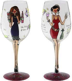 Women Wining - 1 glass