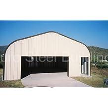 Duro Span Prefabricated Steel Arch Metal Garage Kit G16 X 20 X 12
