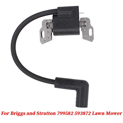 Lawn Mower Ignition Coil Replacement Part Fits for Craftsman,Troy-Bilt, MTD, Yard Machines, Poulan, Murray, Weed Eater, and Bolens Ignition Coil(as Shown)