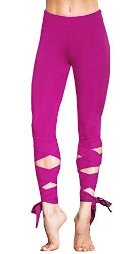 Womens Leggings Workout Fitness Black Printed Capri Yoga Pants Cute Heart Shape - Cute Heart Shape