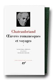 La Pléiade - Oeuvres romanesques et voyages, tome 1 par François-René de Chateaubriand