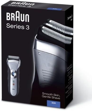 Braun 330-3 Serie 3 - Máquina de afeitar eléctrica recargable ...