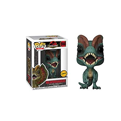 Third Party - Figurine Jurassic Park - Dilophosaurus Chase Pop 10cm - 3700936114143