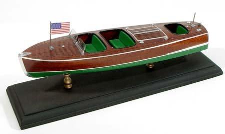 Boat Wooden Kit (Dumas 1/24 Chris-Craft Triple Cockpit)