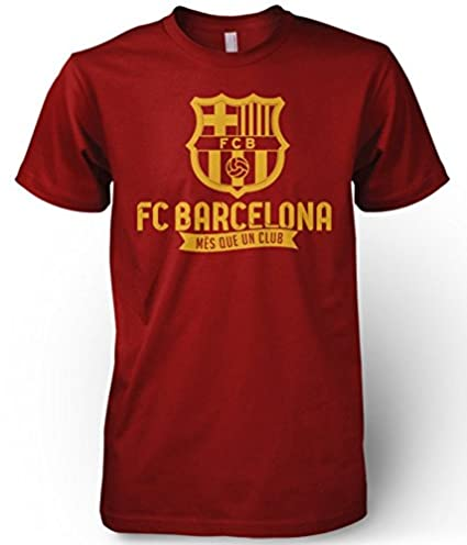 Amazon.com : FC Barcelona España Spain Soccer Futbol T Shirt Camiseta Barca Messi La Liga : Sports & Outdoors