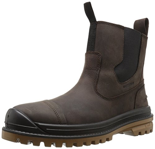 Kamik Men's GriffonC Snow Boot, Dark Brown, 11 M US