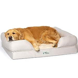 PetFusion Ultimate Dog Bed, Orthopedic Memory Foam, Multiple Colors and Sizes, Medium Firmness Pillow, Waterproof Liner…