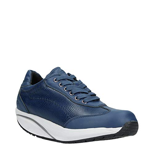 Basses MBT Blue Femme 6s Sneakers W Pata nxqHOq7v0