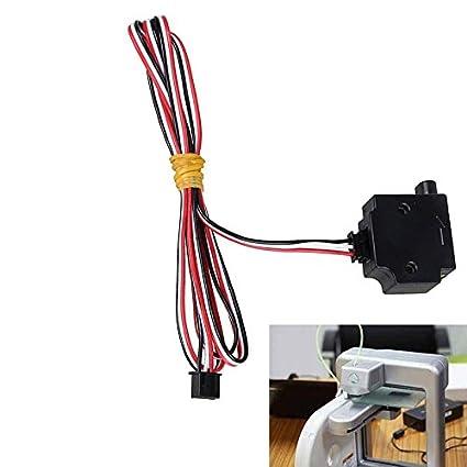 TOOGOO Rilevamento del filamento di 1,75 mm Pesci Mettere in pausa il modulo del sensore del monitor della stampante 3D