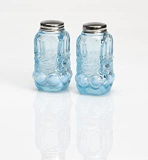 product image for Mosser Glass Eye Winker Opal Salt & Pepper Shakers in Aqua