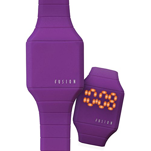 (Dakota Girl's Quartz Rubber and Silicone Casual Watch, Color:Purple (Model: 52564))