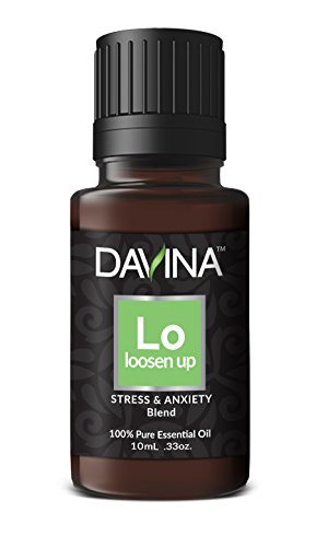 Loosen Up Stress & Anxiety Essential Oil Blend 10ml Therapeutic Grade by Davina …