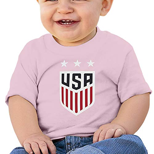 Sunshine Store Women Soccer USA Team France 2019 World Tournament Baby T-Shirt One-Piece Baby Bodysuit Sleeveless ()
